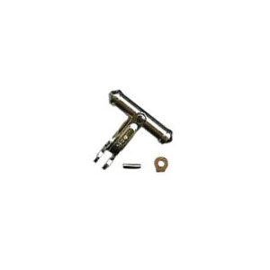Fancy Bullet-type Cufflink Back Set with Connector and Pin