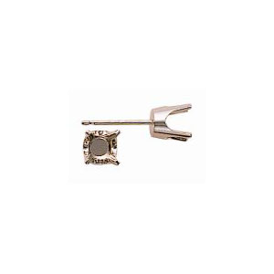 Heavy 4 Prong Stud Earring(Series 4400)
