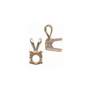 Standard Weight 4 Prong Pendant
