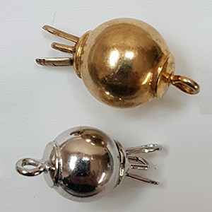 Smooth Ball Clasp