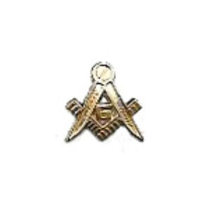 Masonic Symbol Pin Top
