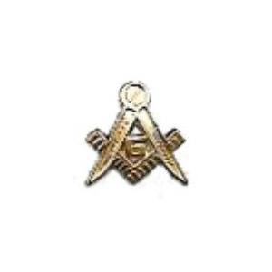 Masonic Symbol Pin Top