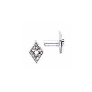 Diamond Shape Pin Top