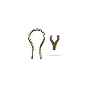 Omega Earring Set with Wire, Hinge and Pin