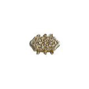 Hexagon Shaped Filigree Pearl Clasp for 3 Strands