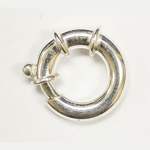 Heavy Weight Spring Ring with Bridges